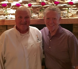 "Chef Jim ""Sevy"" Severson and Jim White."