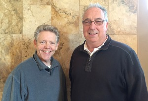 Jim White and Darren McGrady