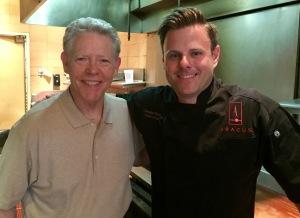 Jim White and Chris Patrick