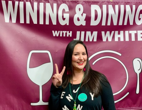 """Nikky Phinyawatana-Asian Mint """"Wining and Dining with Jim White"""" 12-13-18"""