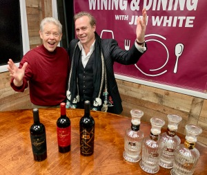 Jim White and Jean Charles Boisset